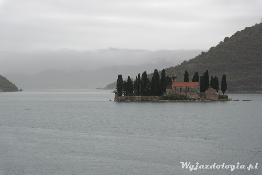 Perast wyspa Sveti Dorde