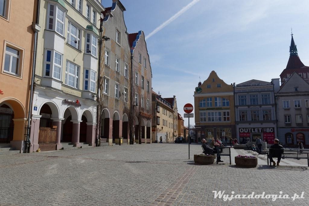 Olsztyn rynek starego miasta