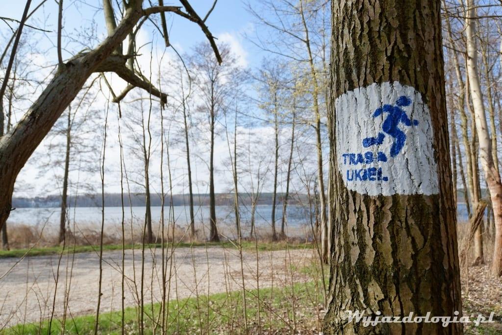 jezioro Ukiel Oslztyn