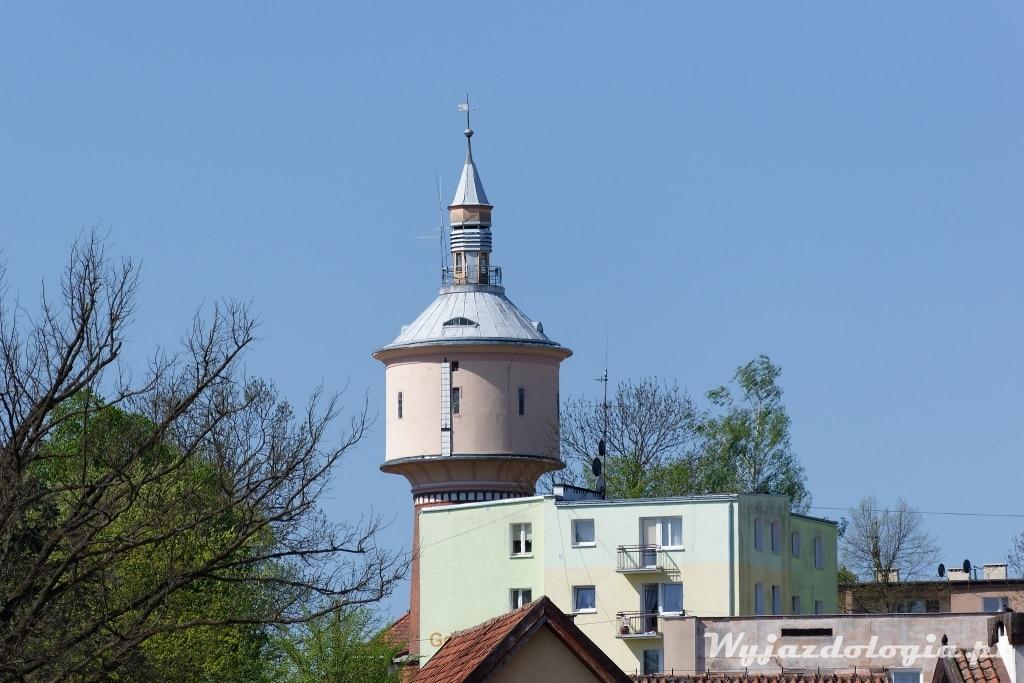 wieża ciśnień w Dobrym Mieście