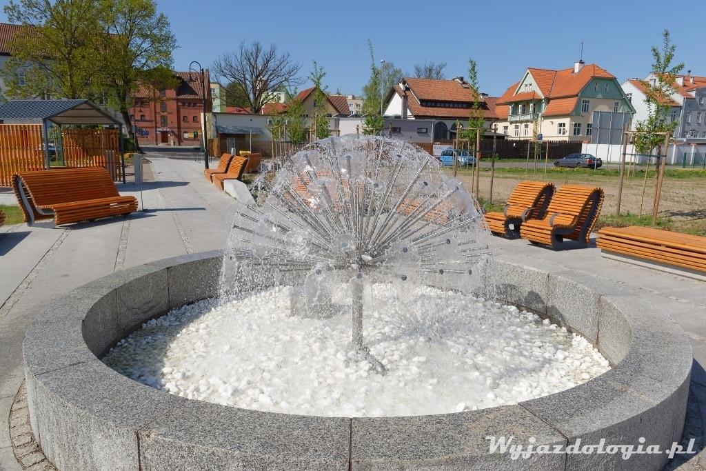 Dobre Miasto fontanna