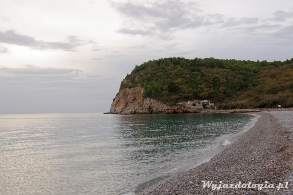 Czarnogóra nocleg przy plaży