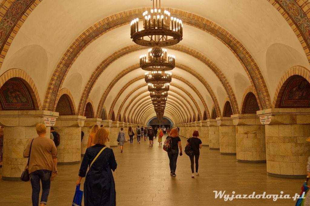 Kijów stacja metra Atrakcje