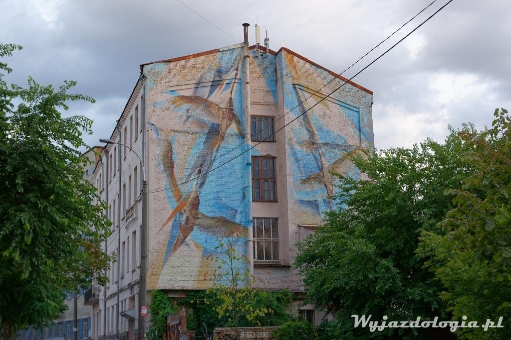 murale w Kijowie atrakcje