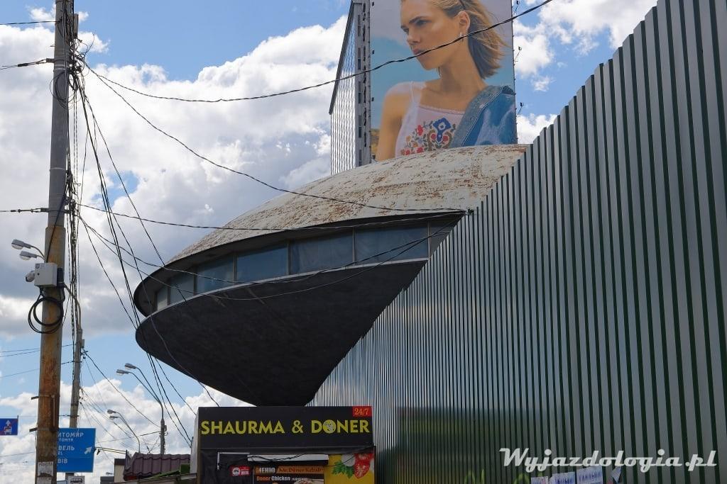 Kijów budynek Ufo