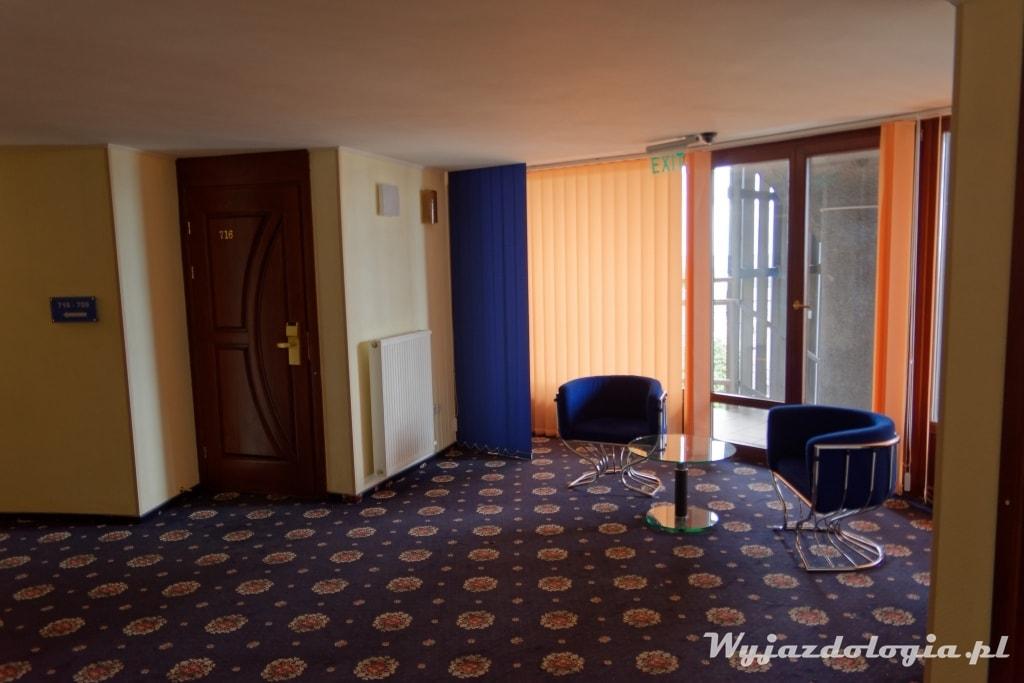 wnętrze hotelu salute w kijowie