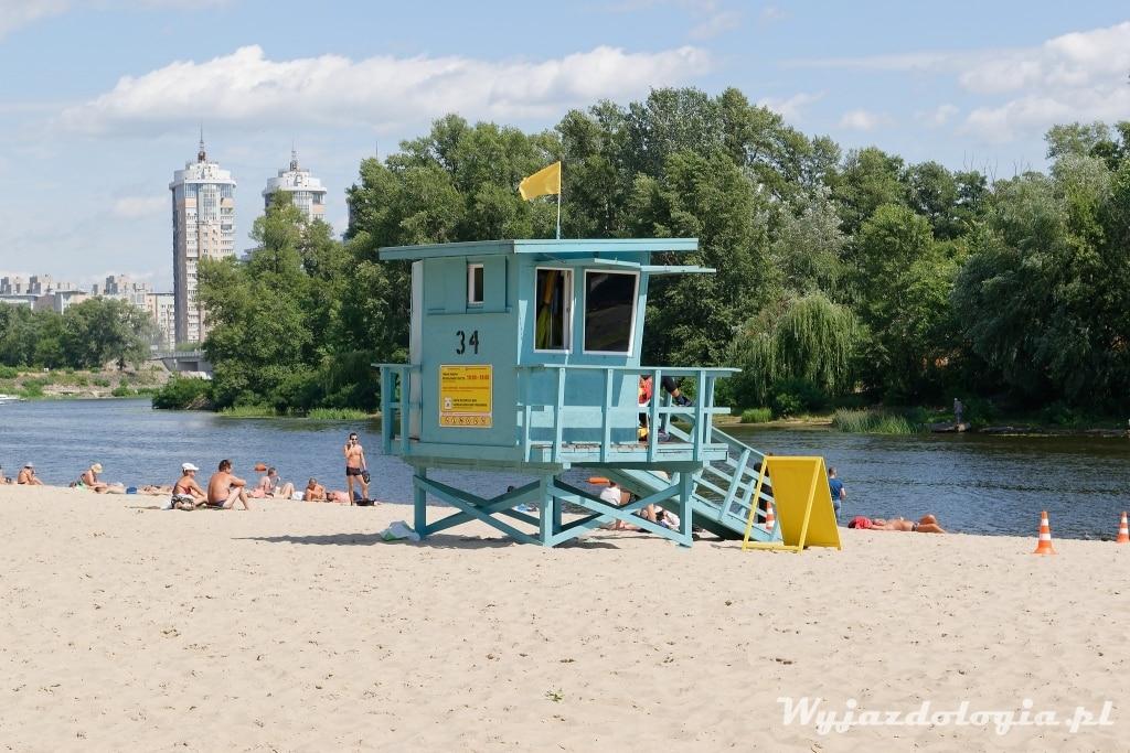 Kijów miejska plaża atrakcje