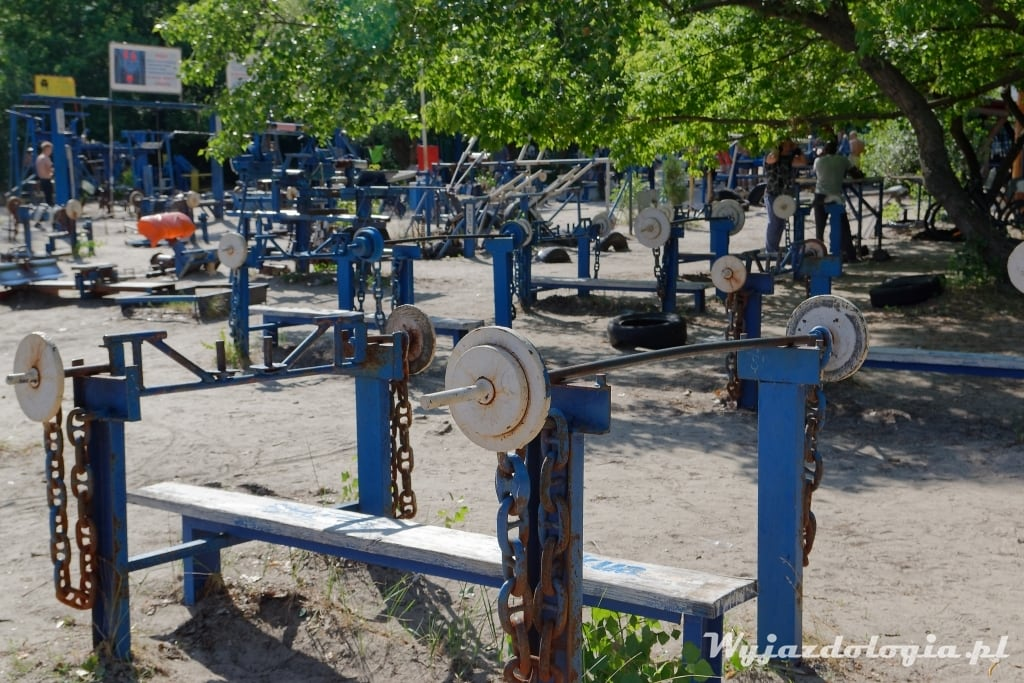 Kijów siłownia pelnerowa Hydropark