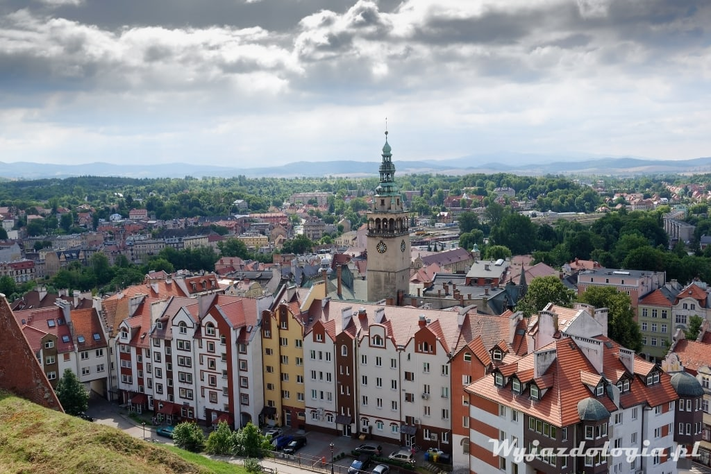 Atrakcje Kłodzko - panorama miasta