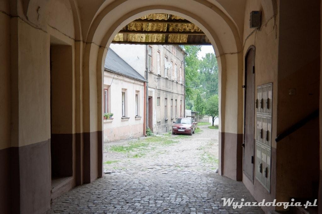 podwórko w Łowiczu