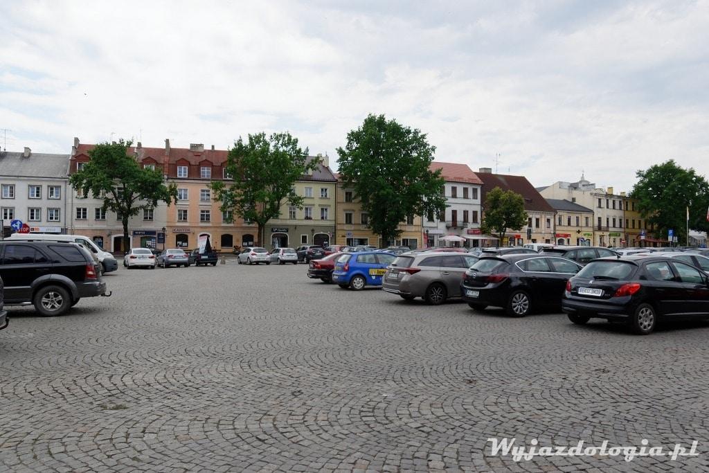 Stary Rynek samochodowy w Łowiczu