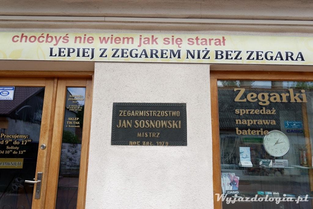 Zegarmistrz w Łowiczu