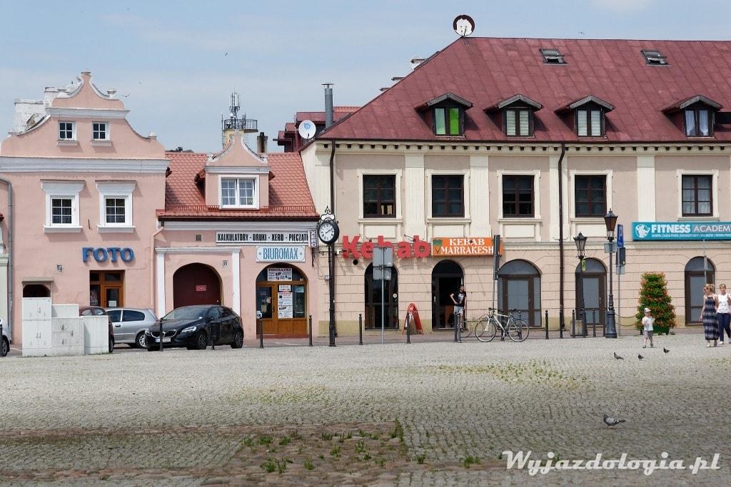 Atrakcją Łowicza jest Trójkątny Rynek