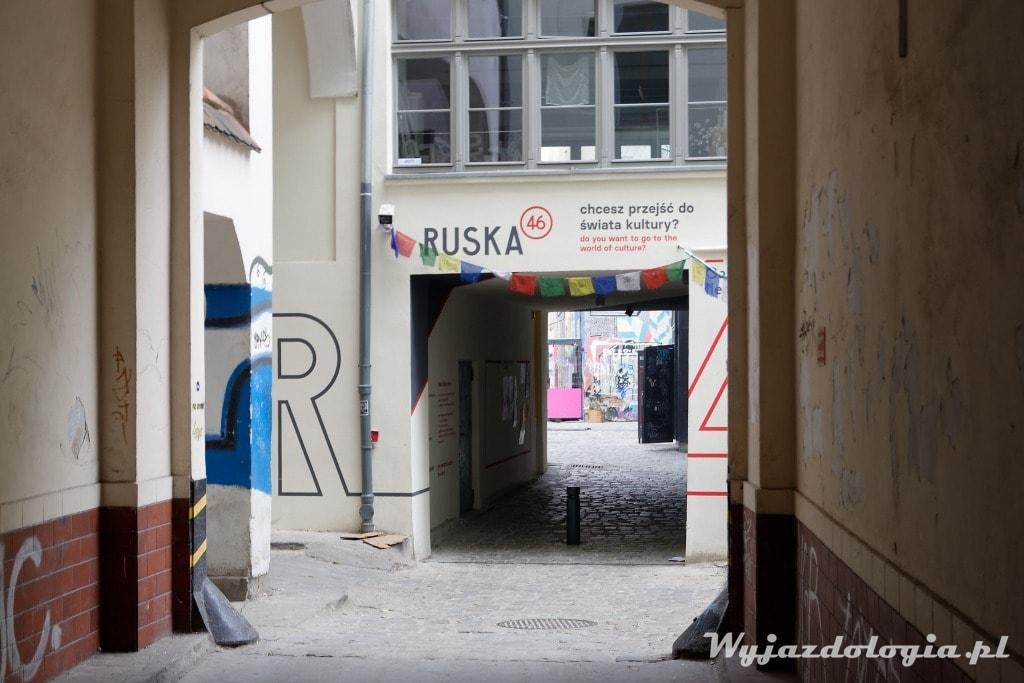 Ruska 46 neony we Wrocławiu to alternatywna atrakcja miasta