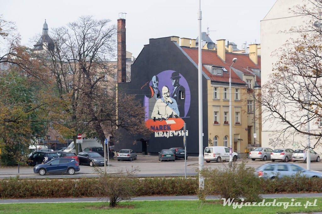 Wrocław Mural MArek Krajewski