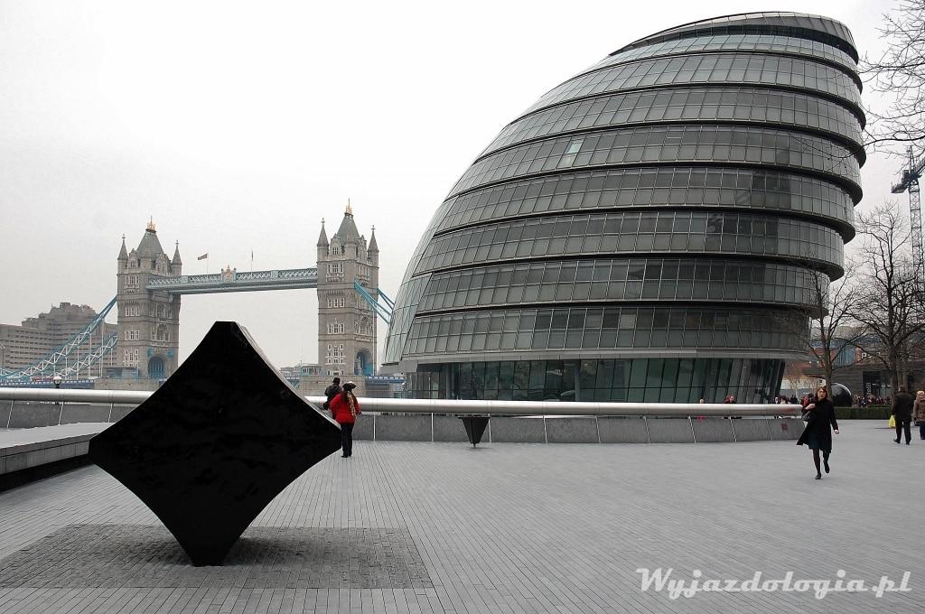 londyn zimą
