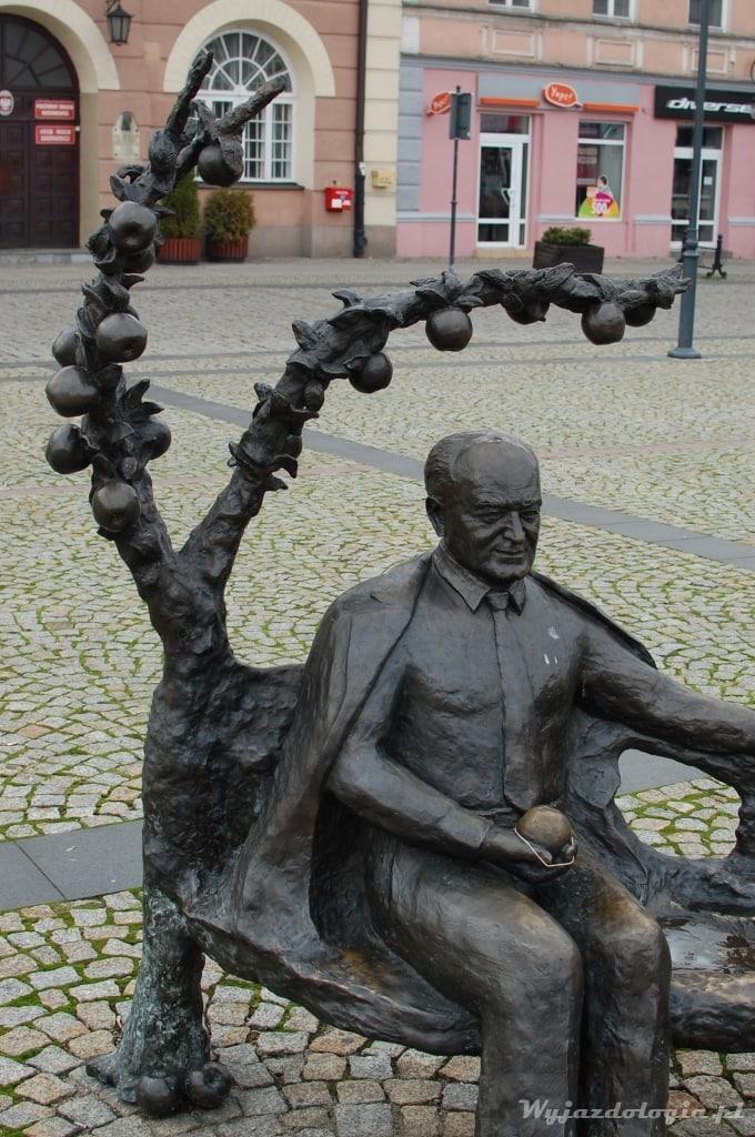 Skierniewice - pomnik profesora Pieniążka
