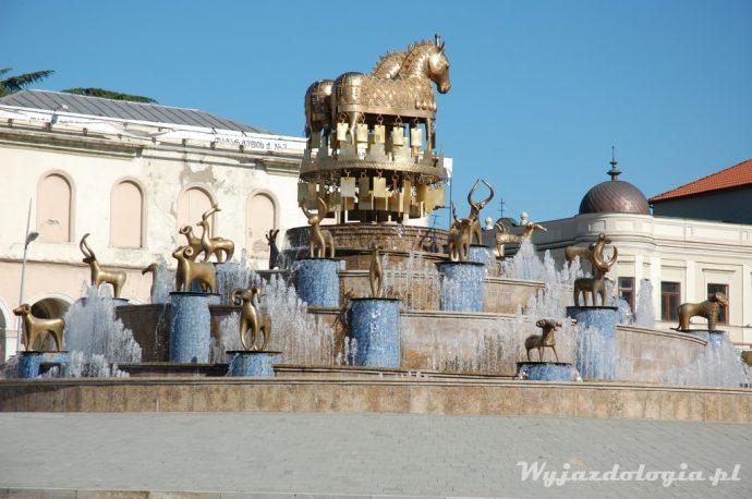 fontanna w Kutaisi