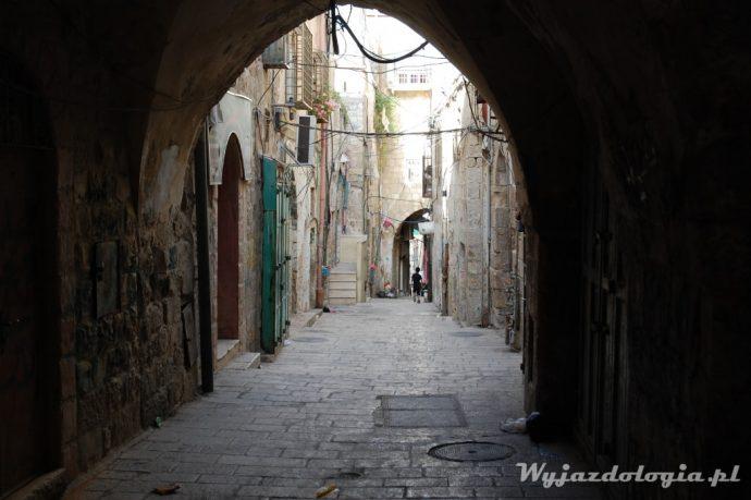 zakamarki starego miasta w jerozolimie