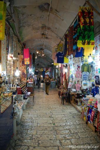 arabski bazar w  jerozolimie