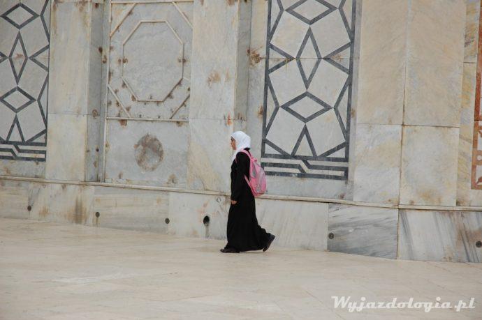 muzułmanka na wzgórzu świątynnym