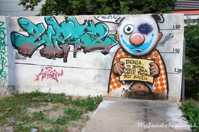 street art na warszawskiej pradze