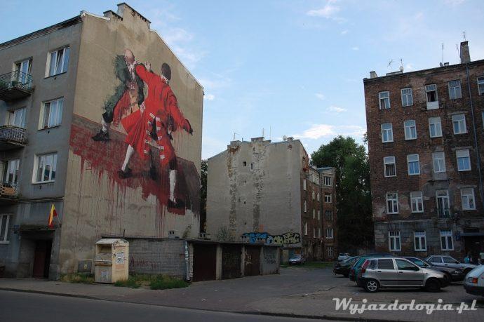 Mural Środkowa 17, Warszawa Praga