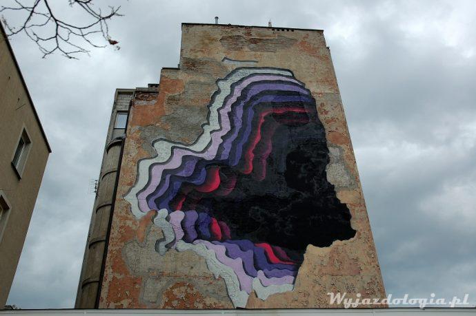 Mackiewicza 11 mural 1010, Warszawa Praga
