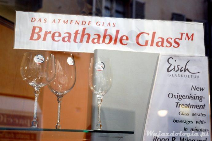 oddychające szkło