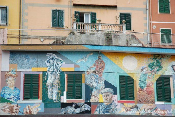 kolorowe fasady w cinque terre