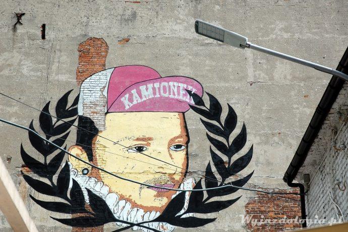 mural z Henrykime Walezym Soho Warszawa