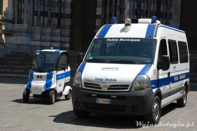policja w genui