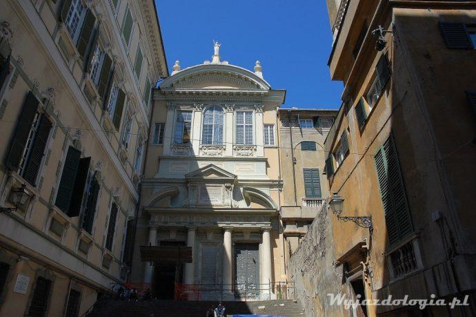 barokowe fasady genua