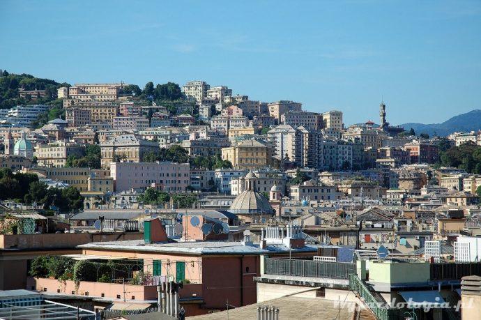 genua panorama miasta