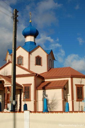 drewniana cerkiew w Łosince