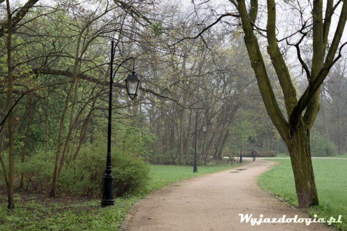 park zdrojowy w Ciechocinku