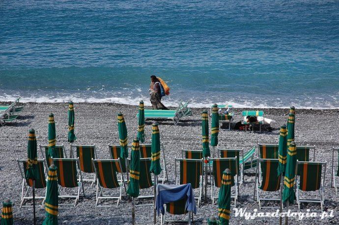 plaża w ligurii