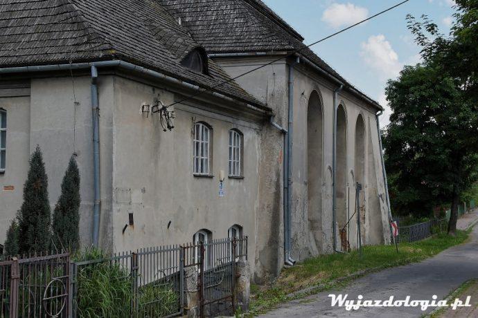 Łęczna wielka zamknięta synagoga
