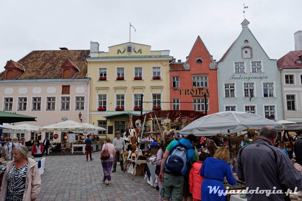 Tallin Rynek Ratuszowy