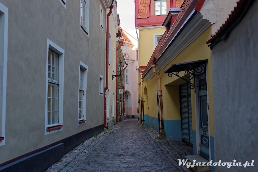 Górne Stare miasto Tallin