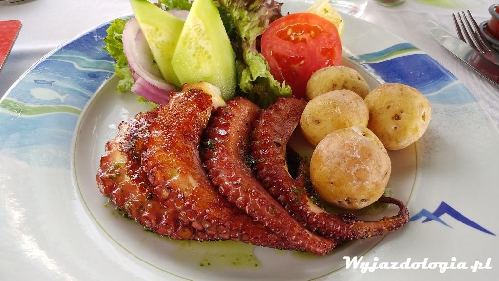 Lanzarote owoce morza