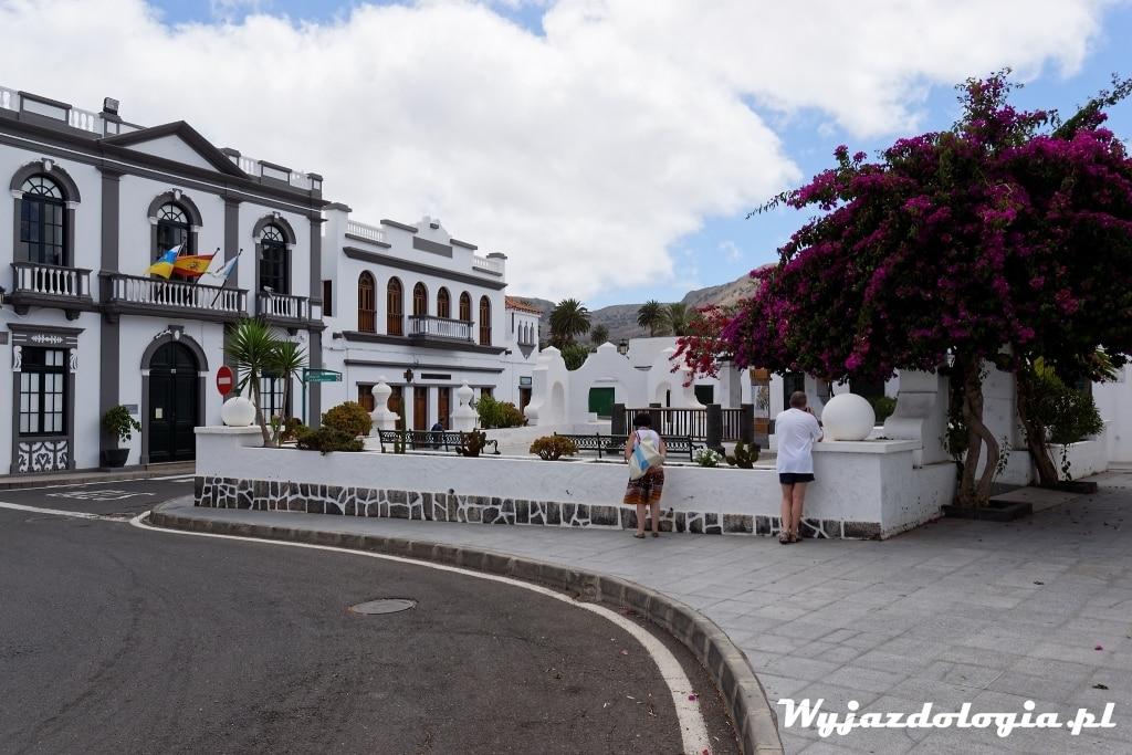 Plac Konstytucji Haria Lanzarote Wyspy Kanaryjskie