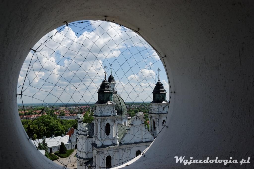 Chełm atrakcje widok na Bazylikę