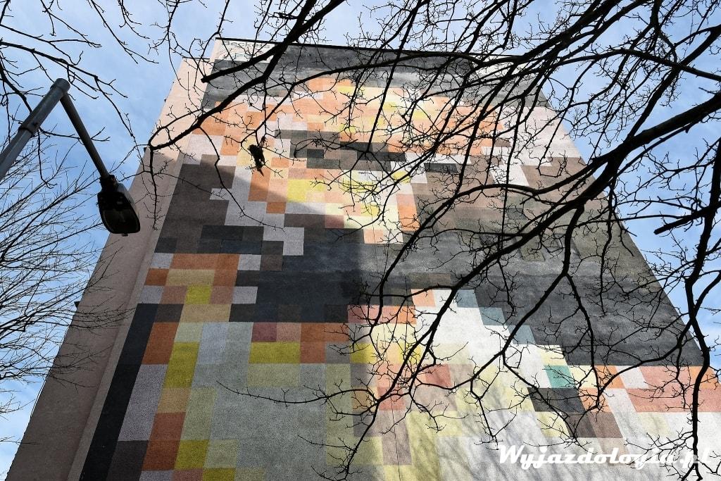 Przemineło z wiatrem mural