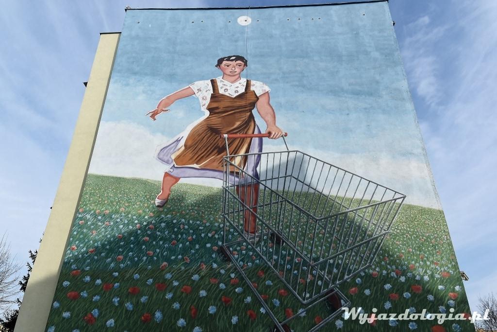 Gdańsk co warto zobaczyć - murale Gdańsk Zaspa