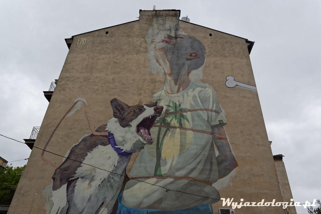 mural Etam Cru Lublin