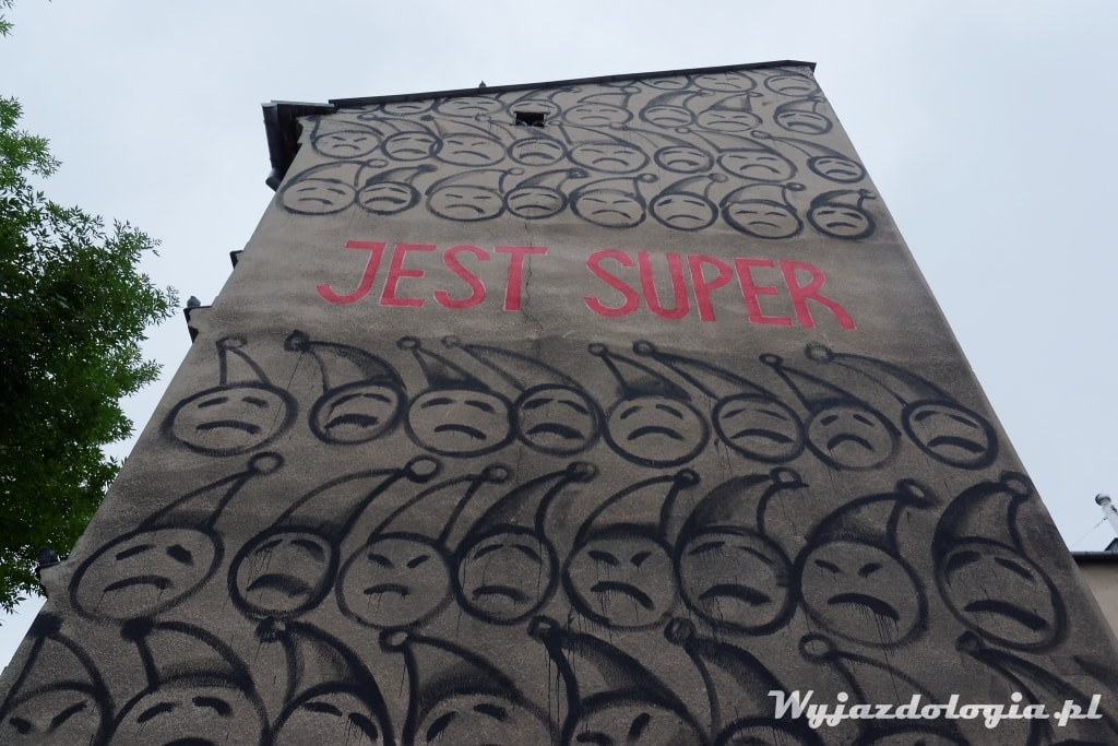 mural jest super Lublin