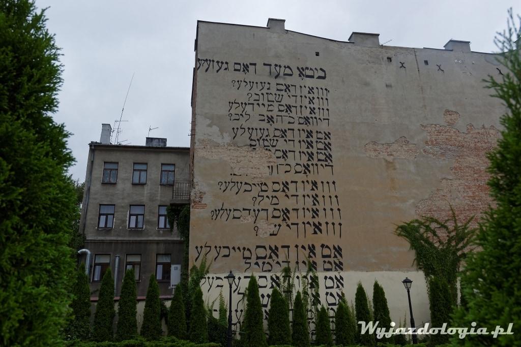 mural Lublin Jidysz
