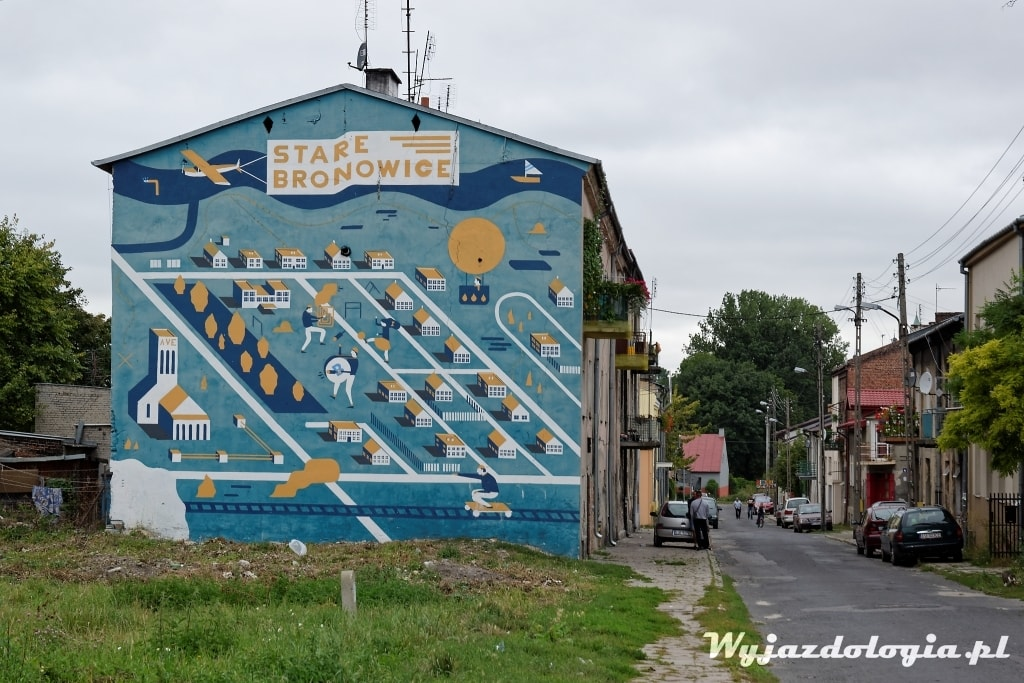 Mural Lublin Bronowice