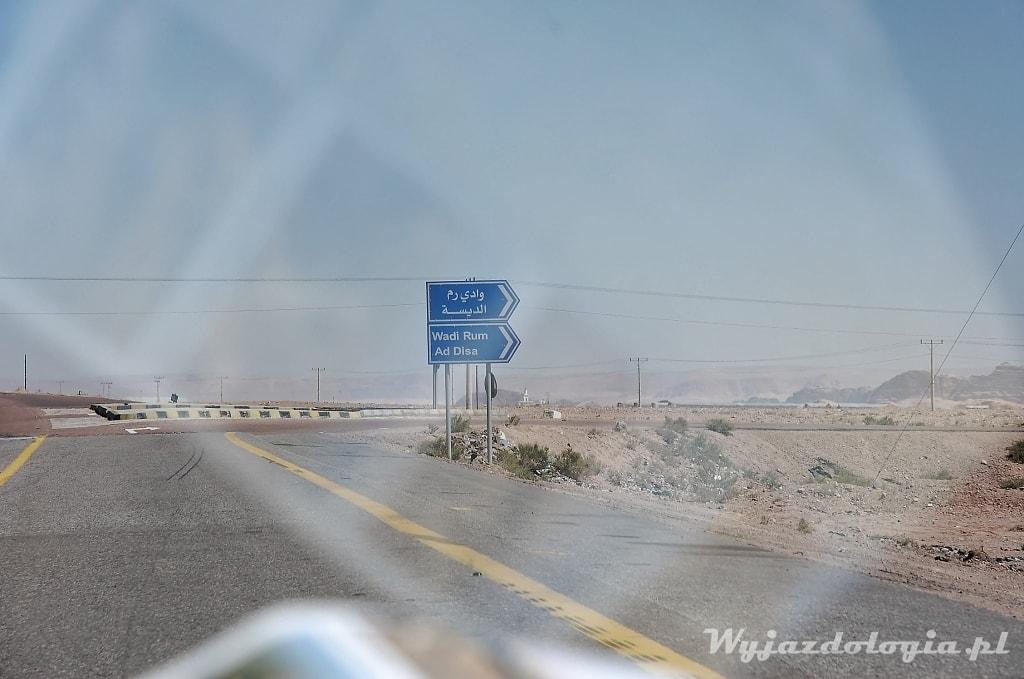 Wadi Rum w Jordanii